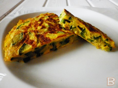 tortilla de calabacin B light